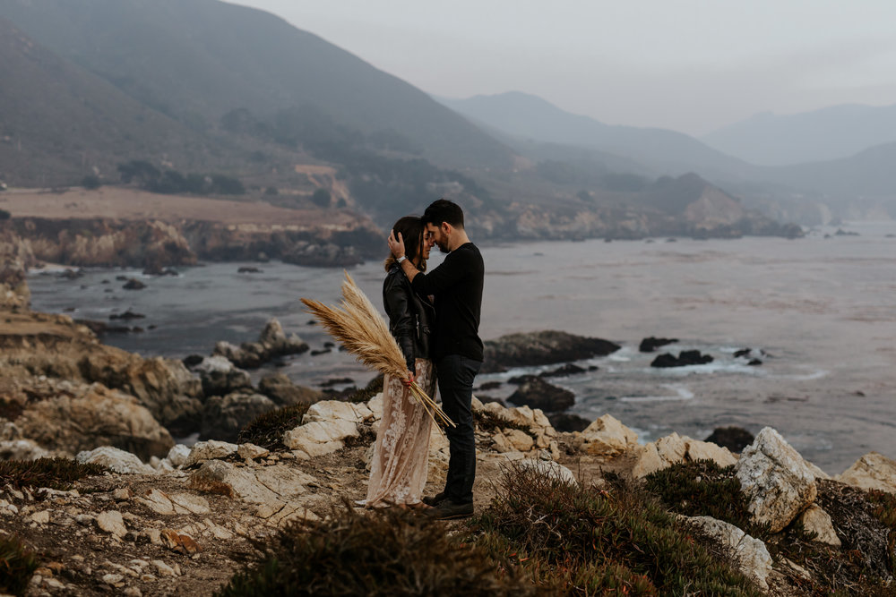 Bohemian Big Sur California Engagement Session  - Chad + Amanda - Trin Jensen Photography