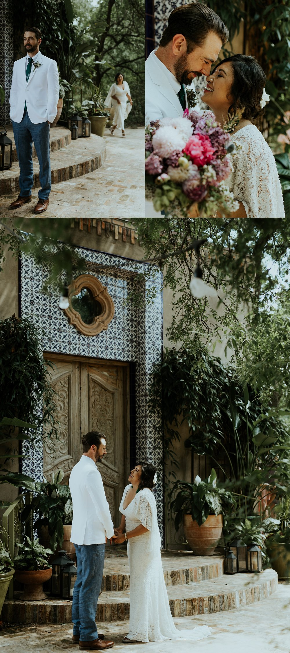 Vibrant Spring Wedding at the enchanting Jennifer's Gardens in Downtown Austin Texas_0016.jpg