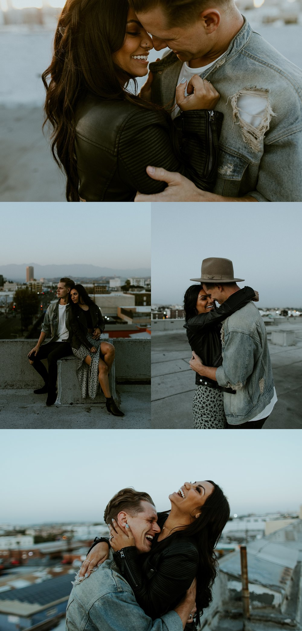 DTLA Rooftop Engagement Session by Trin Jensen Photography  - Los Angeles Wedding Photographer_0045.jpg