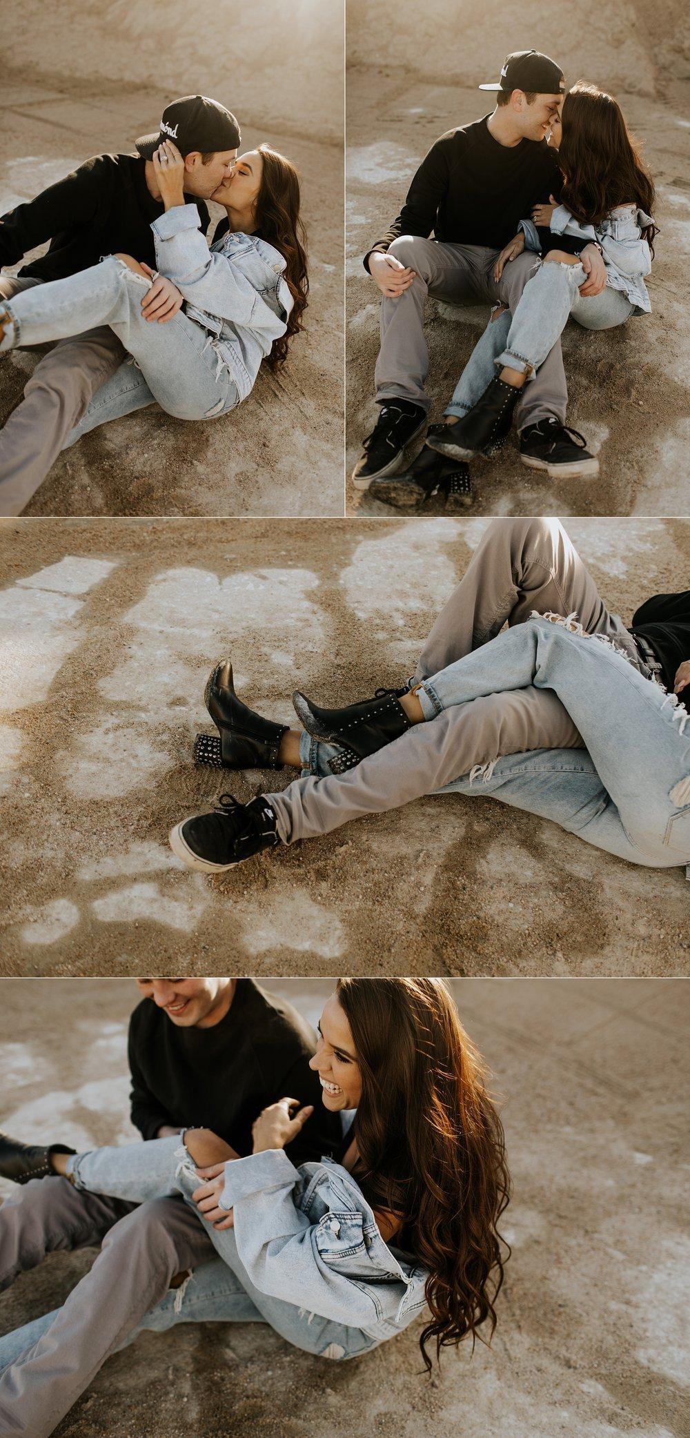 Hipster Street Style Winter Engagement Session  - Nebraska Wedding Photographer_0009.jpg