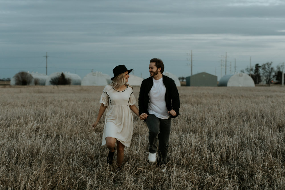 Bohemian Nebraska Engagement Session  --  Trin Jensen Photography
