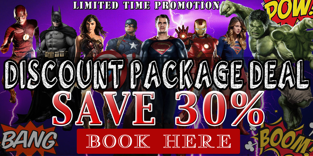 Click the above image to book our limited time offer package deal!