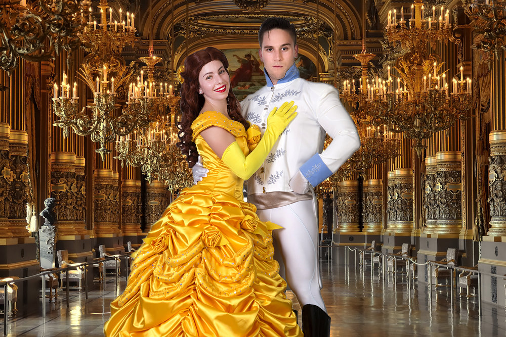 The Gold Coast's ONLY Disney Princess and Prince entertainer duo for kids parties!