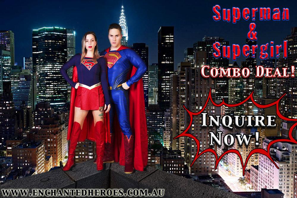 supermankidspartyentertainer