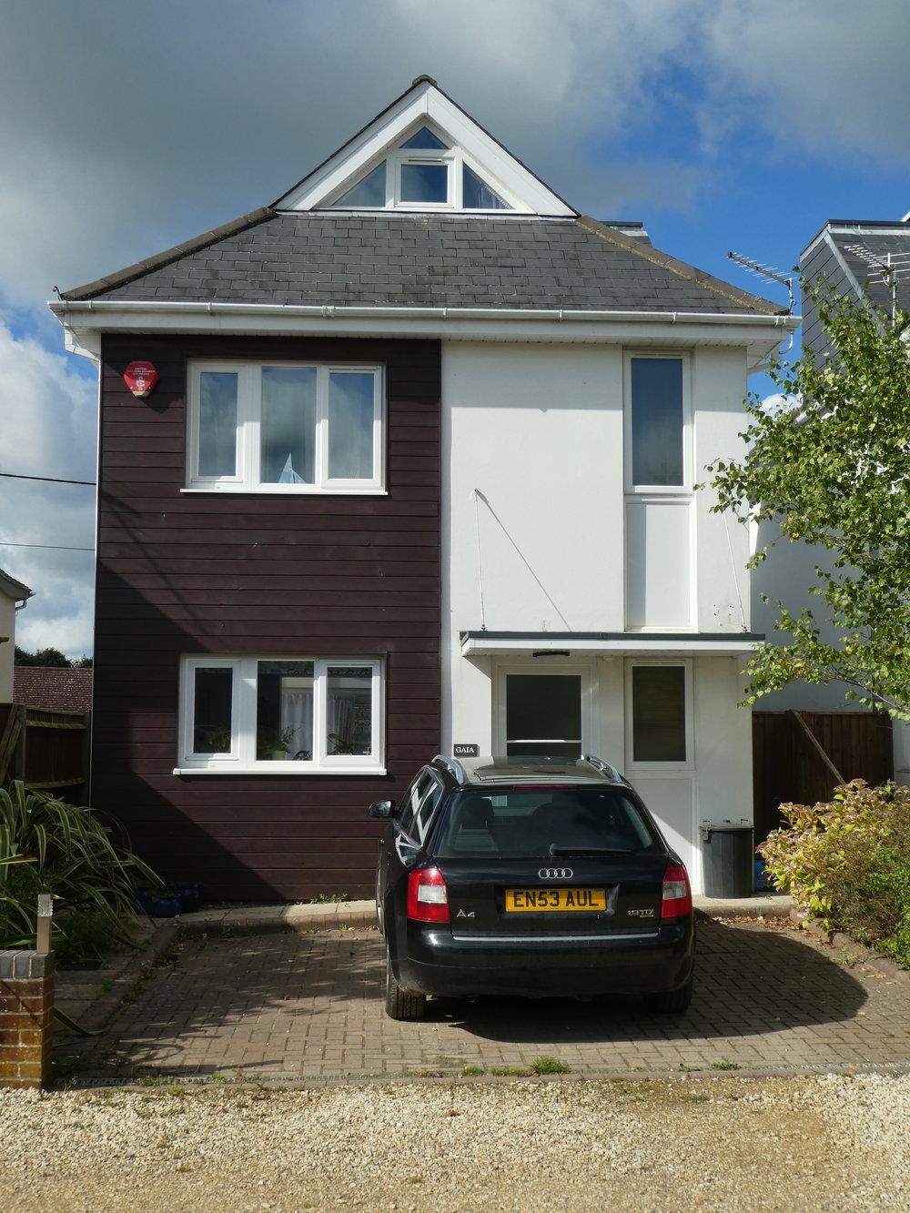 St Mark's Road, Lymington, new houses