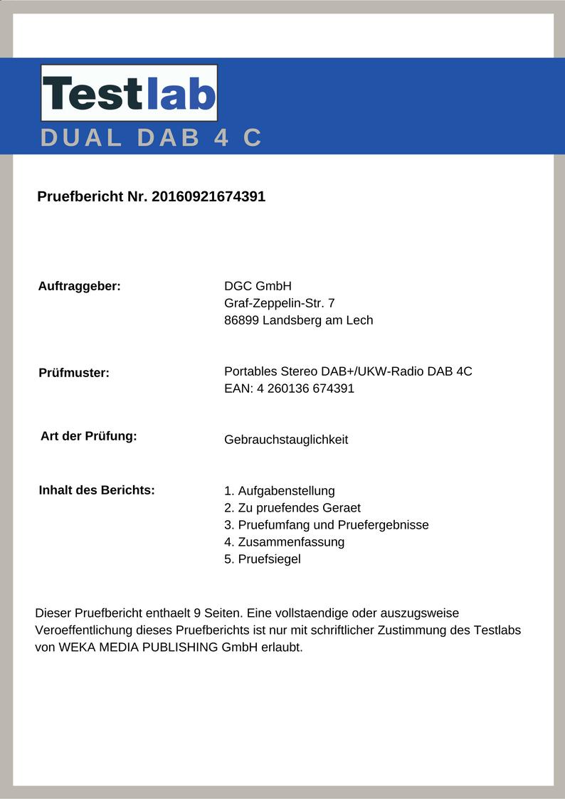 Dual DAB 4C