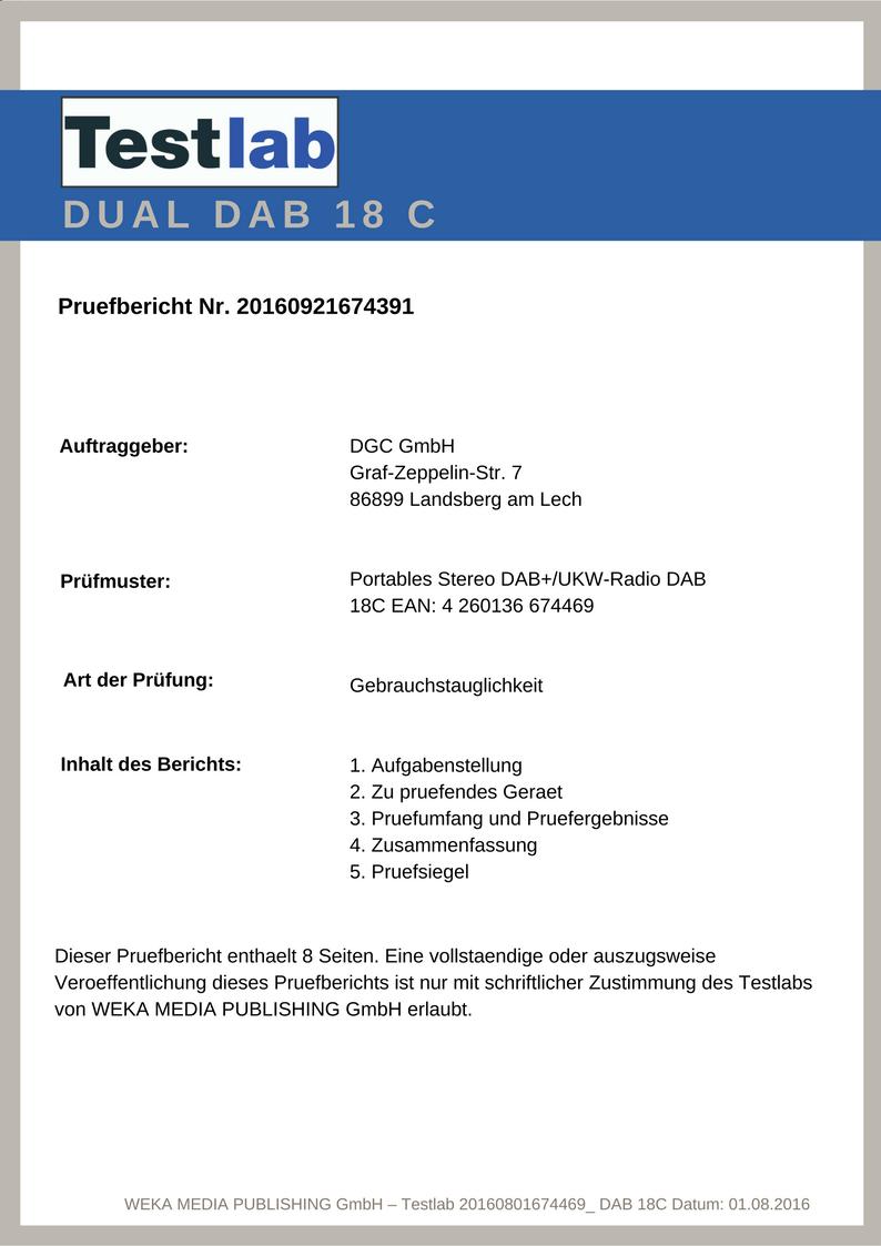 Dual Dab 18 C