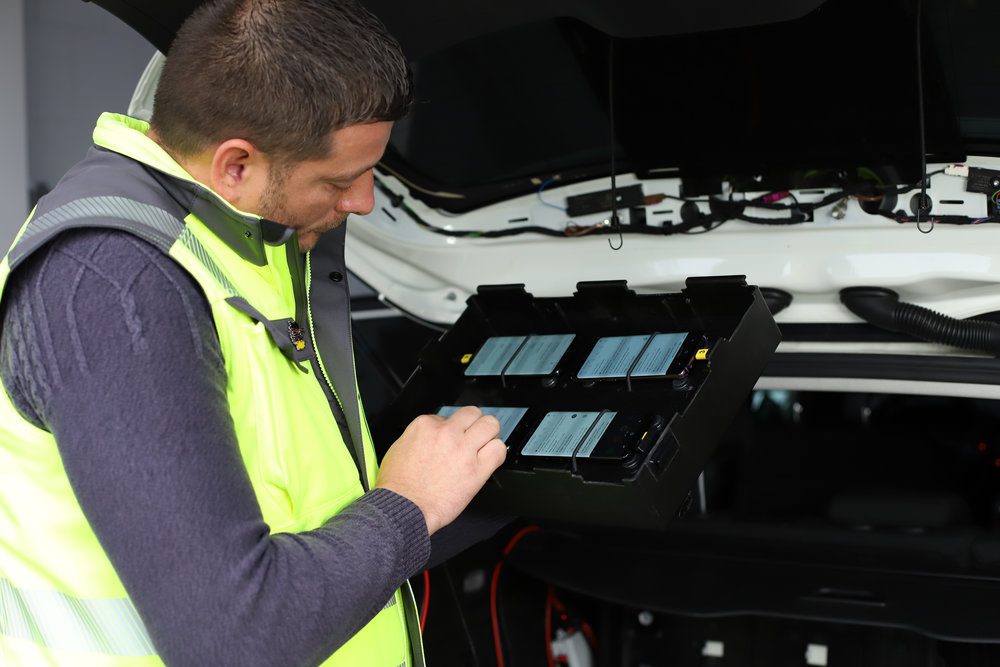 One Samsung Galaxy S8 per operator took the voice measurements and one additional S8 per operator was used for the data tests. All test phones were operated and supervised by P3's unique control system.