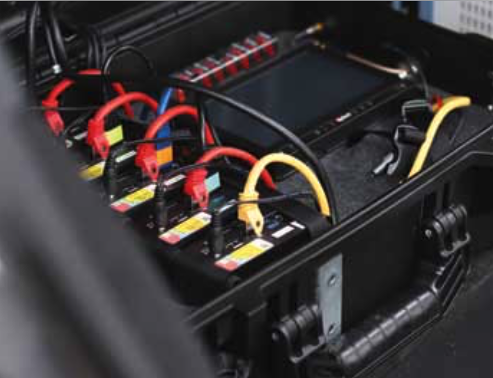 All test phones used in the drivetests were operated and supervised by P3's unique control system.
