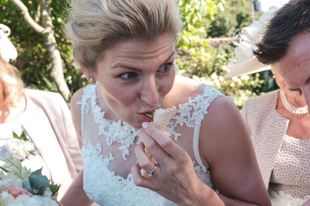 Josh Tomalin Wedding Photographer ice cream munch