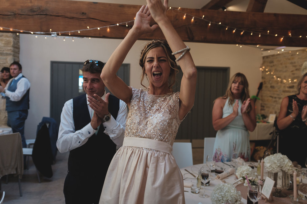 Josh Tomalin Wedding Photographer a big round of applause