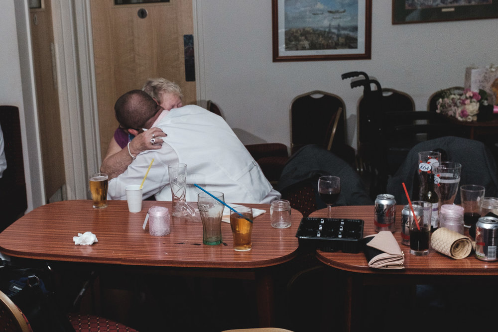 Josh Tomalin Wedding Photographer mum and son hug