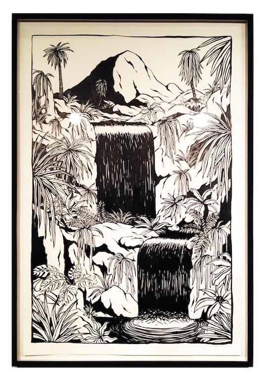 Floor van het Nederend, Waterfalls.