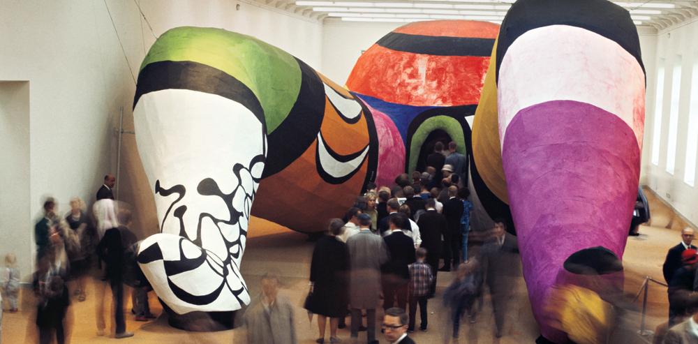 Niki de Saint Phalle,Hon en Katedral.