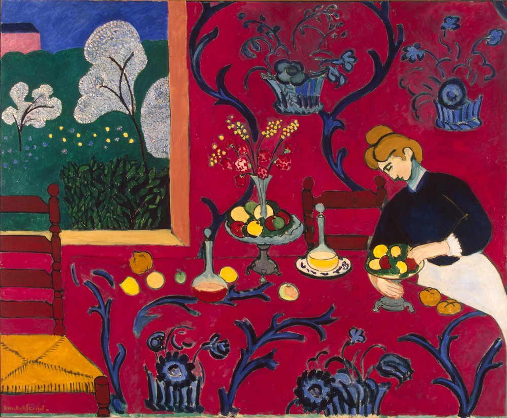Henri Matisse, The Red Room.