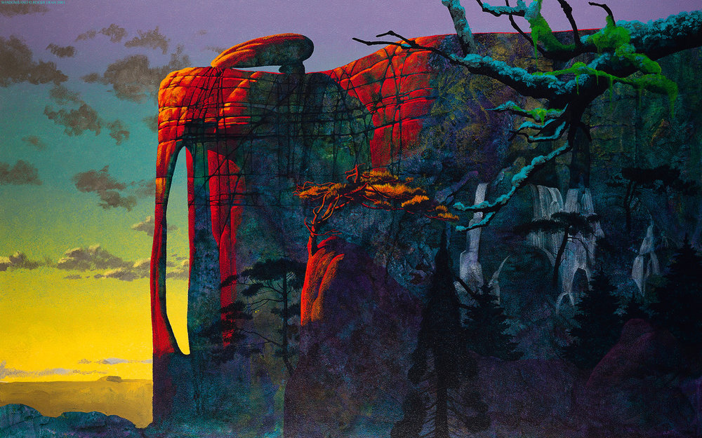 Roger Dean, Cover for Symphonic Music by Yes.