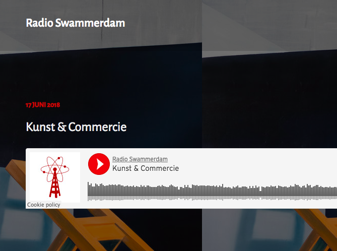 Radio Swammerdam - Interview with Wouter and artist Kyra Sacks about making a living from art.-Listen here