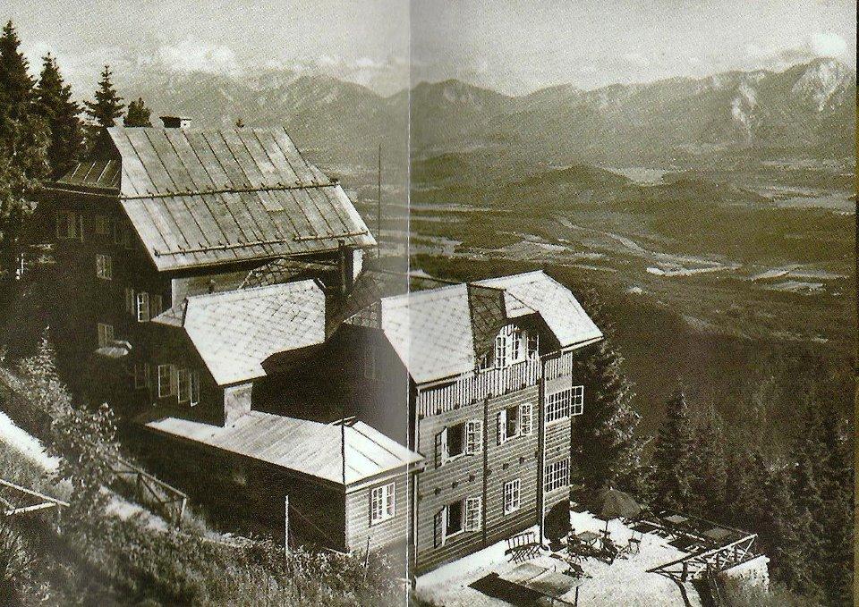 Die Alpenpension Zaubek wurde 1929 vom Martha und Fritz Zaubek eröffnet