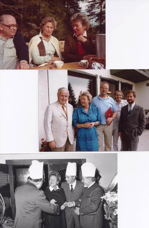 Die Pionierarbeit von Franz und Inge Zaubek brachte Ihnen zahlreiche Ehrungen ein, unter anderm das goldene Verdienstzeichen der Republik Östereich. Als diskrete Gastgeber durften sie einige Gipfelgespräche der legendären Sozialpartner Benya und Sallinger ausrichten.