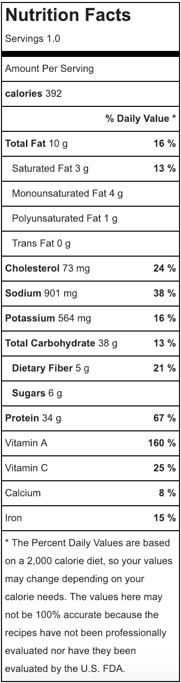 Chicken Soyaki Nutritional Info.png