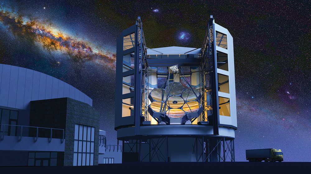 Credit: Giant Magellan Telescope—GMTO Corporation