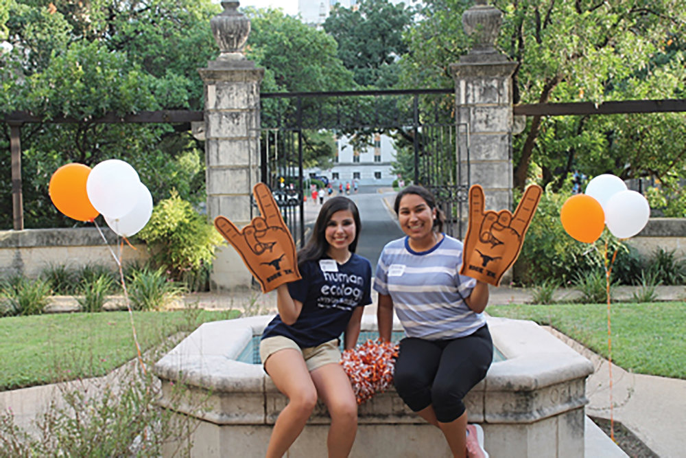 SoHE Ambassadors participate in events like Gone to Texas to increase awareness of SoHE and its programs.