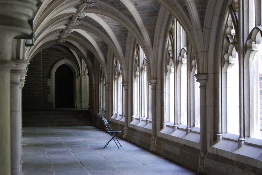 Image credit:  Solitary  by Julian David Bryson, taken on the campus of Princeton University, July 3, 2009.