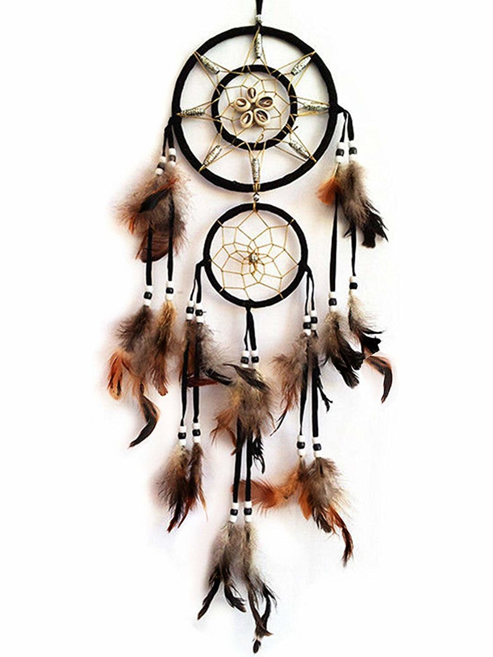 Betterdecor Handmade Dream Catcher with Feathers