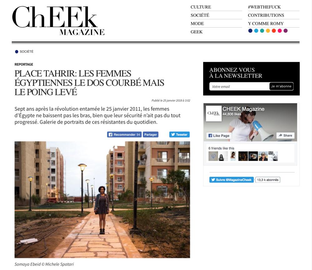 Cheek Magazine - 25/01/2018