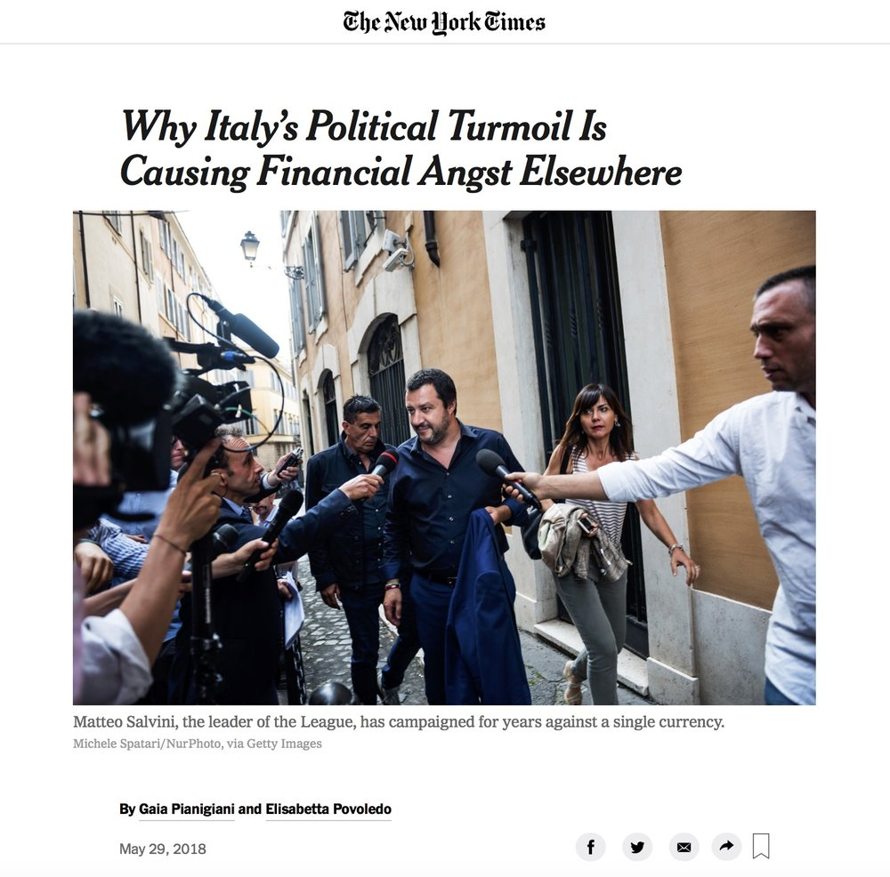 The New York Times - 29/05/2018