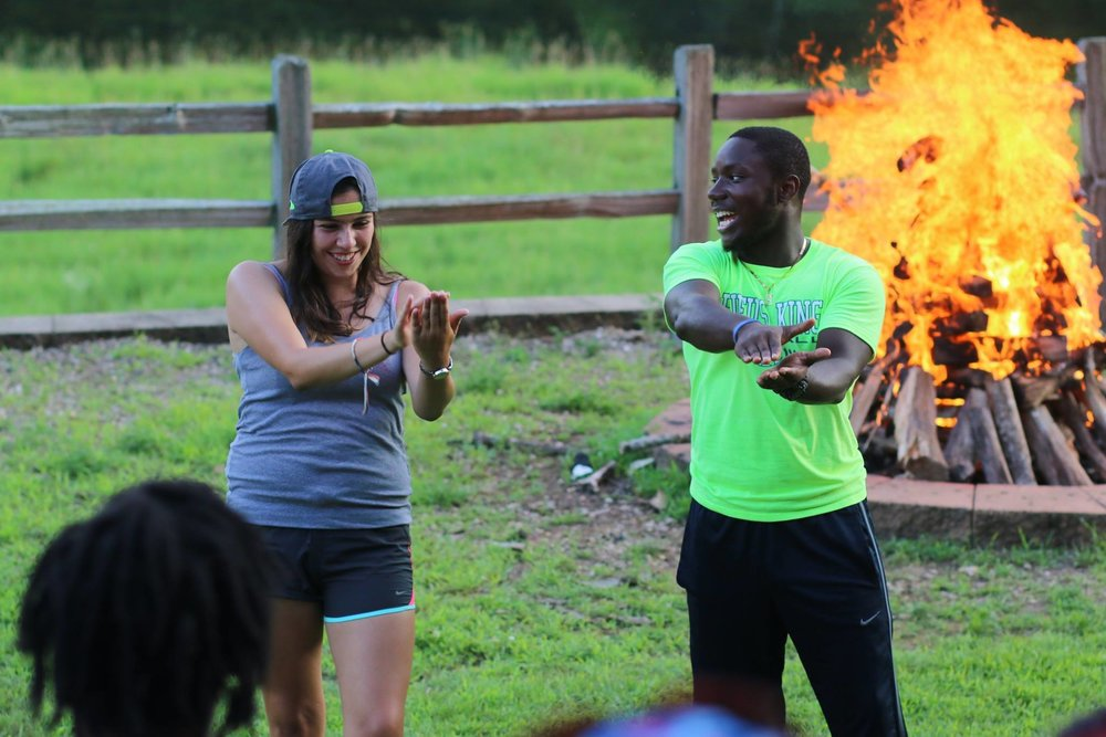 Lake-Valley-Camp-Who-We-Are-Milwaukee-Wisconsin-Community-Youth-Seasonal-Staff-Summer-Counselor-Bonfire-Team