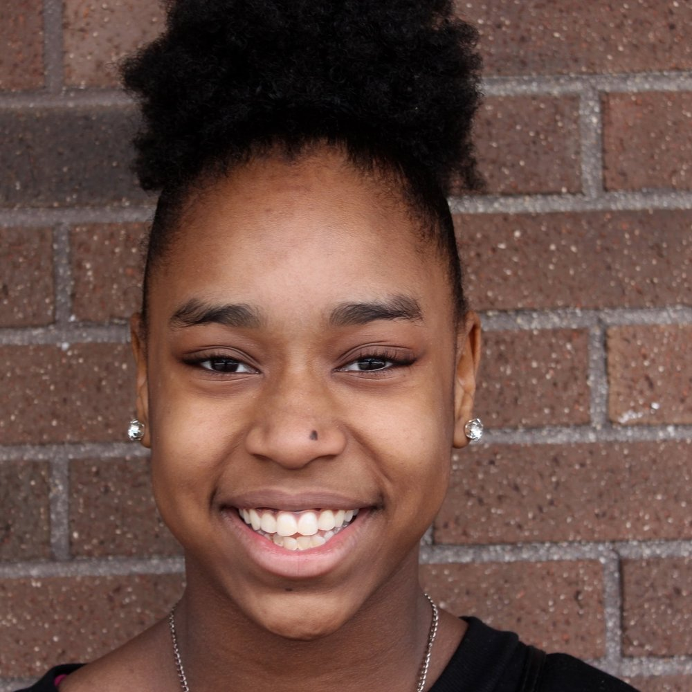 Joniya   Joniya is a 8th grader that goes to Messmer Middle. She started writing poems/songs when she was 6 because she gets very frustrated. Joniya is inspired by a woman, Elizabeth Smith. She writes songs and poems.  Joniya's Portfolio