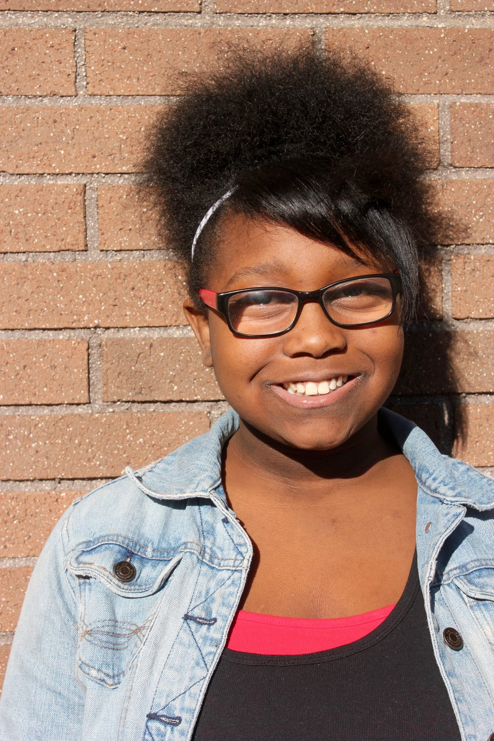 Marijah   Marijah Franklin, 12, attends St. Marcus Lutheran School. She is a youth leader at LVC Rise Up. Marijah started doing poetry, dancing, singing, and acting at the age of 3. She's inspired by her mother, father and grandmother. In the future, she hopes to be a doctor In order to achieve this goal, in her downtime she does a lot of study. Marijah would like to make a change in her world. It starts by every small step she takes.