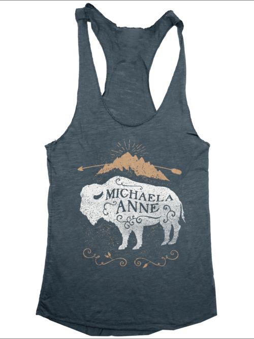 cd120f7852d36 Bison Mountain Tank Top — Michaela Anne