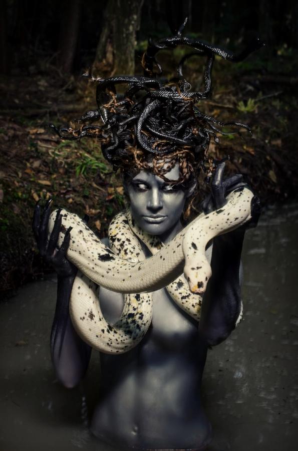 Medusa by Chloe Barcelou