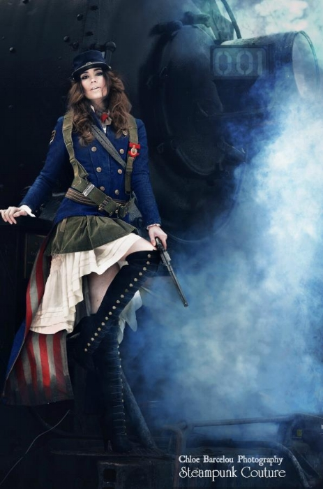 Steampunk Couture by Chloe Barcelou