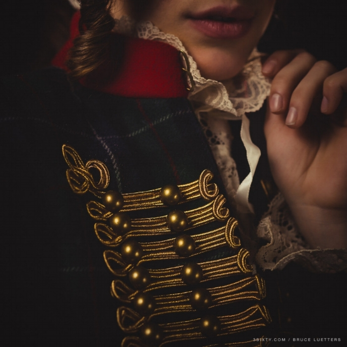 George Washington, by Chloe Barcelou, Photo by Bruce Luetters of 3Sixty Photography