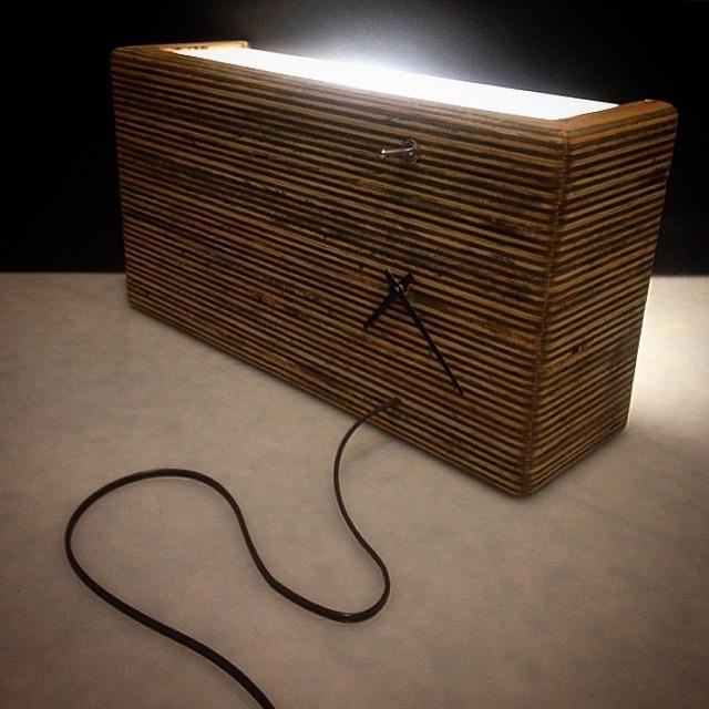 CLOCK LAMP -