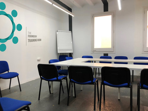 Training Room — The Foundery Coworking Barcelona