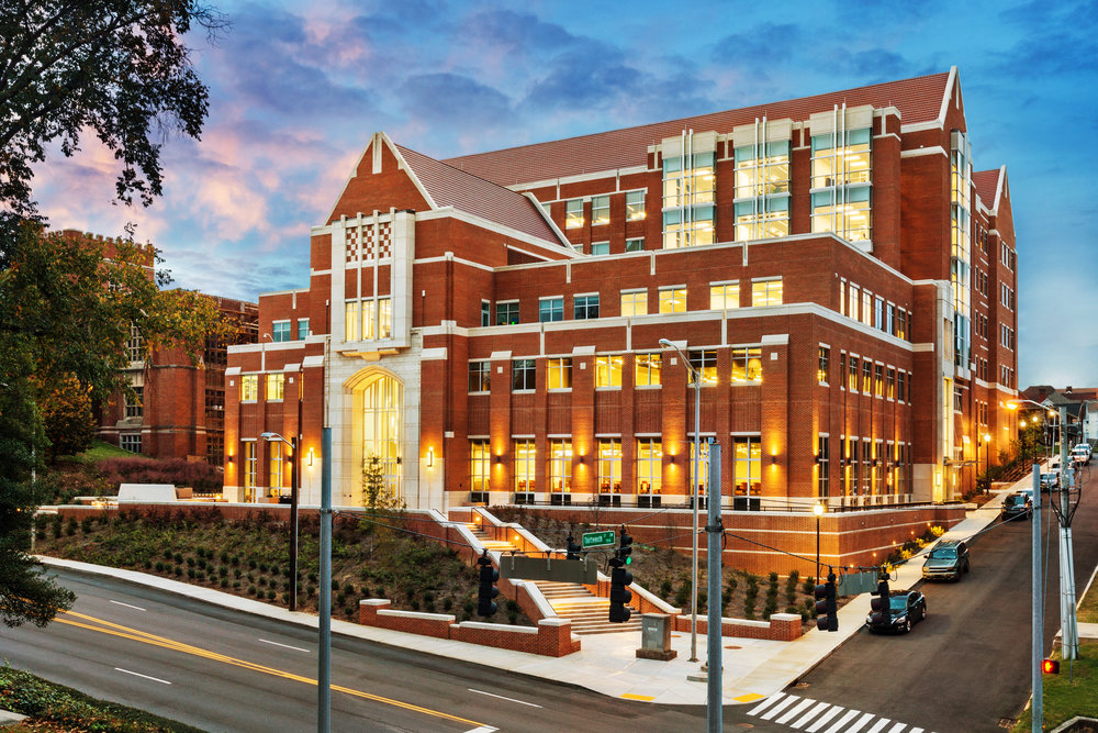 University Of Tennessee Knoxville Campus Map.Ut Ken And Blaire Mossman Science Building Mhm