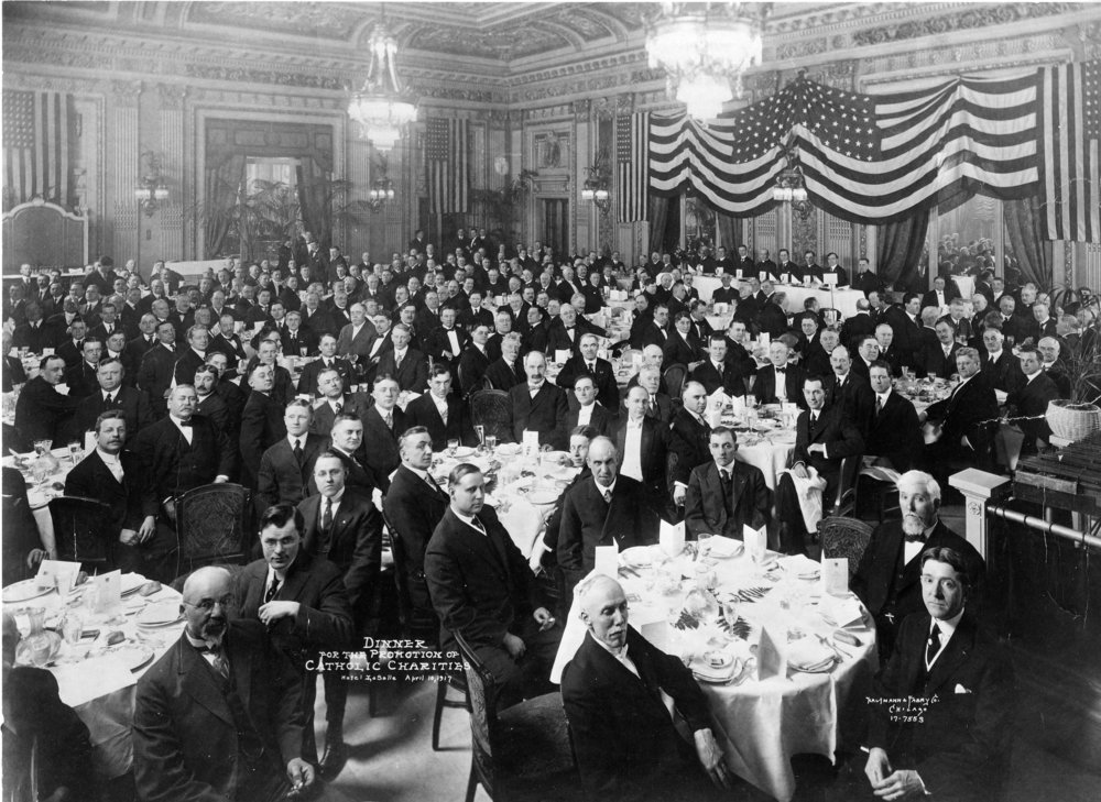 The first annual meeting of the board of advisors in 1918.