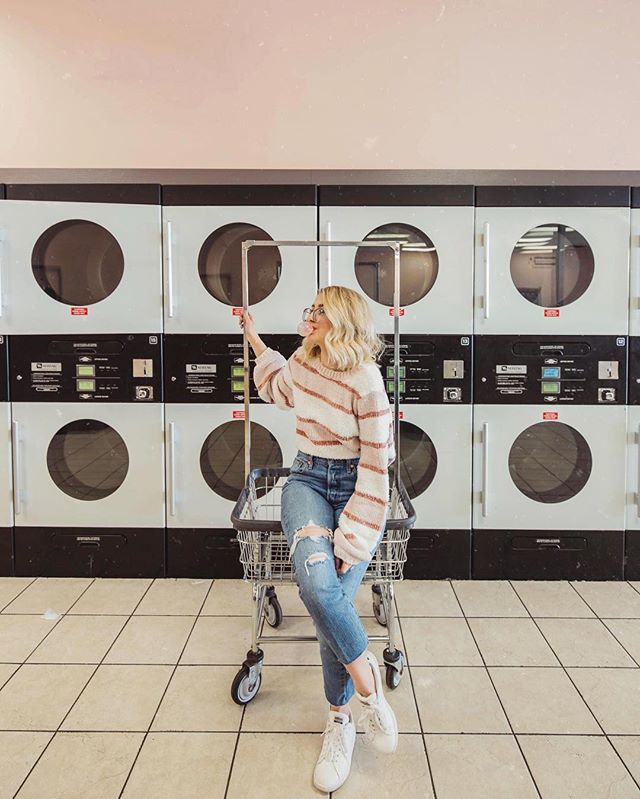 laundry today or naked tomorrow 🧦 #MaddyCorbinPresets