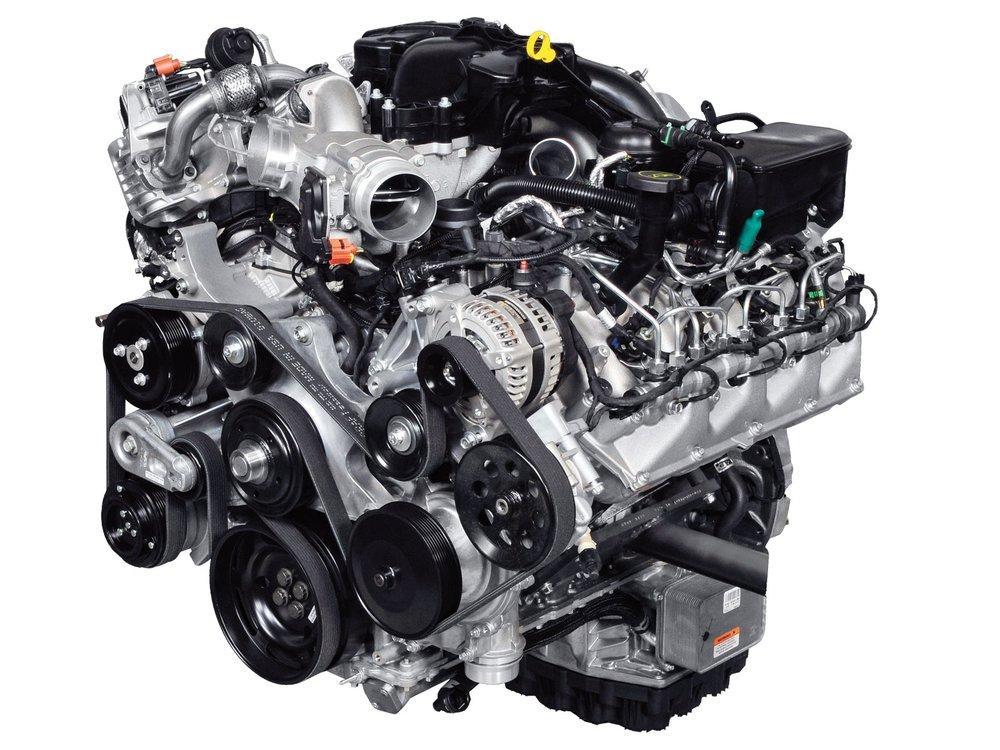 Ford F350 6.7 Diesel engine.