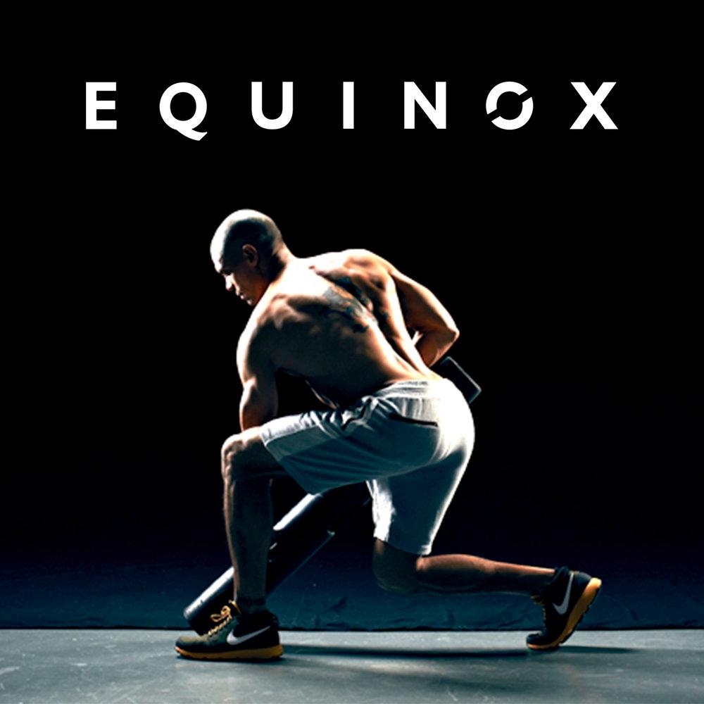 Equinox Fitness Clubs  MARKETING DESIGN