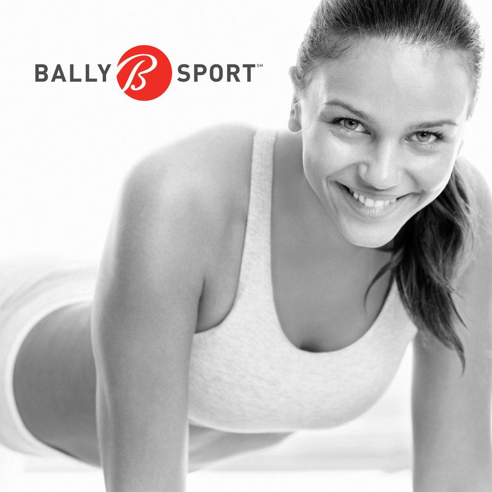 Bally Total Fitness  PRINT DESIGN