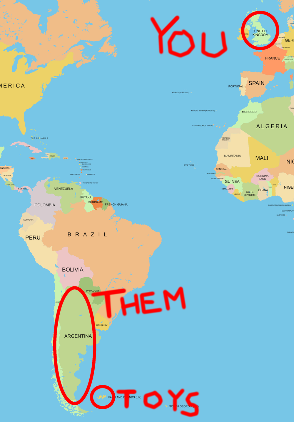 Map based metaphor