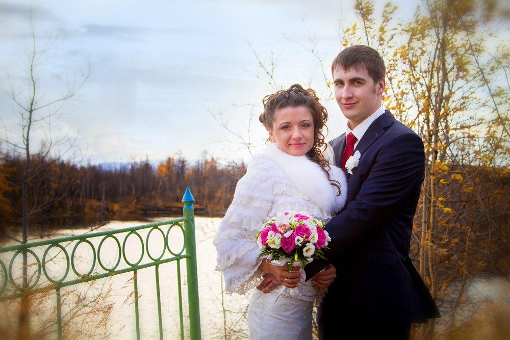 Russian cuple in love