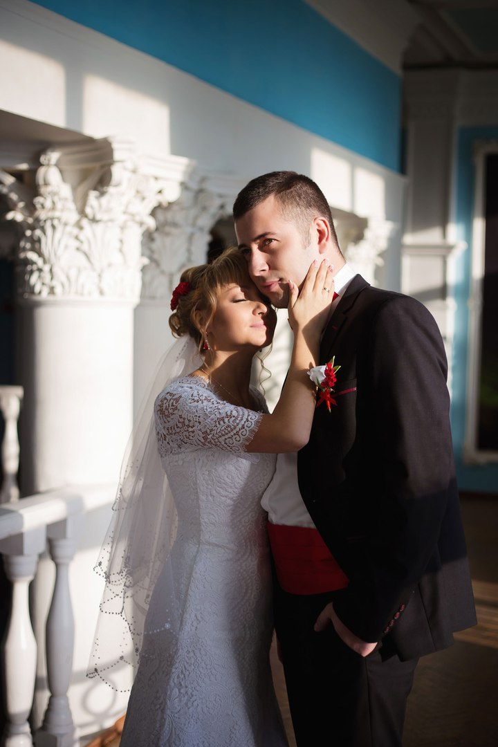 Norilsk people - Pretty Russian couple on their wedding day