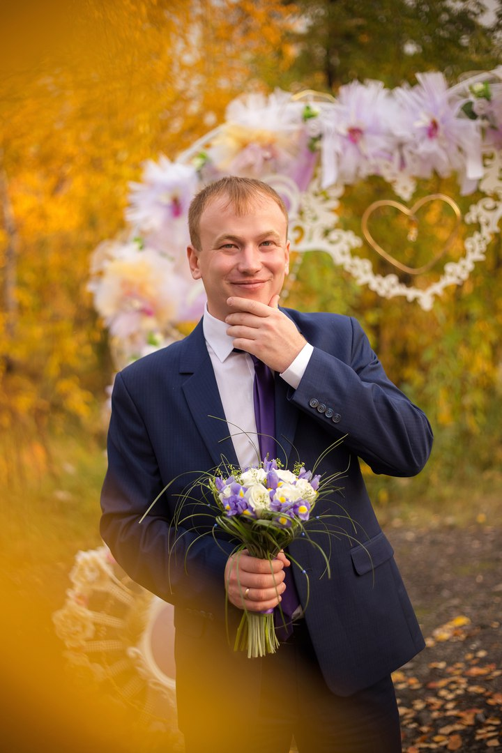 Norilsk Siberia - Russian groom smiling
