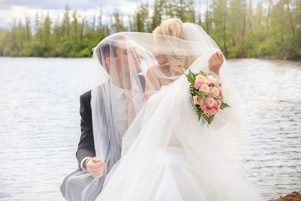 Norilsk Russia - Russian couple just married